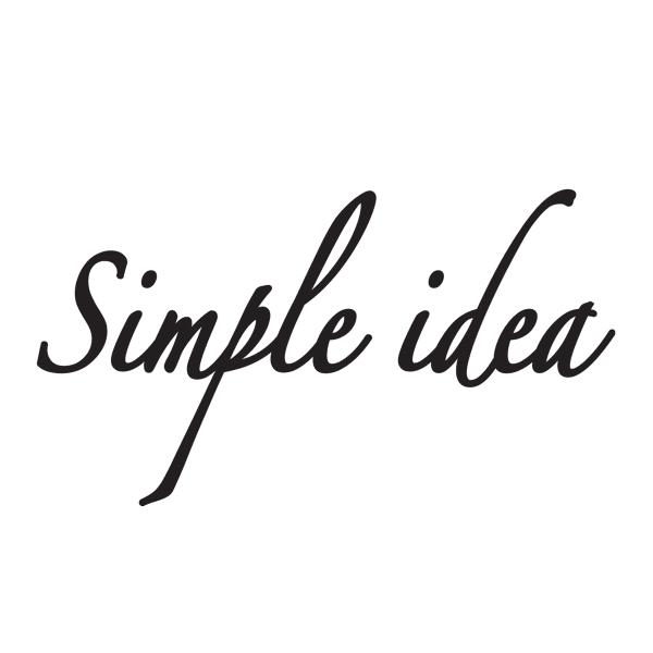 Simple idea