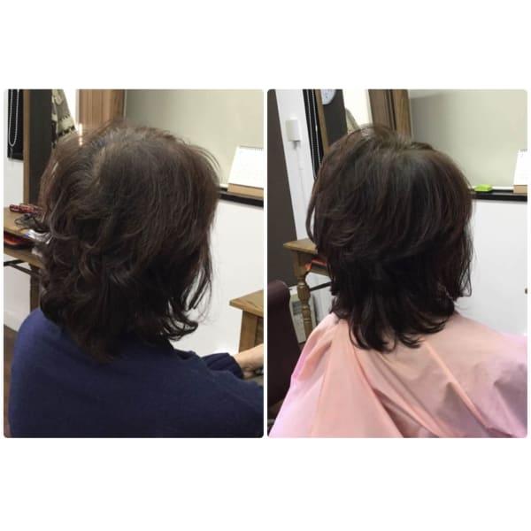 大人女性のためのくせ毛専門美容室アバディ