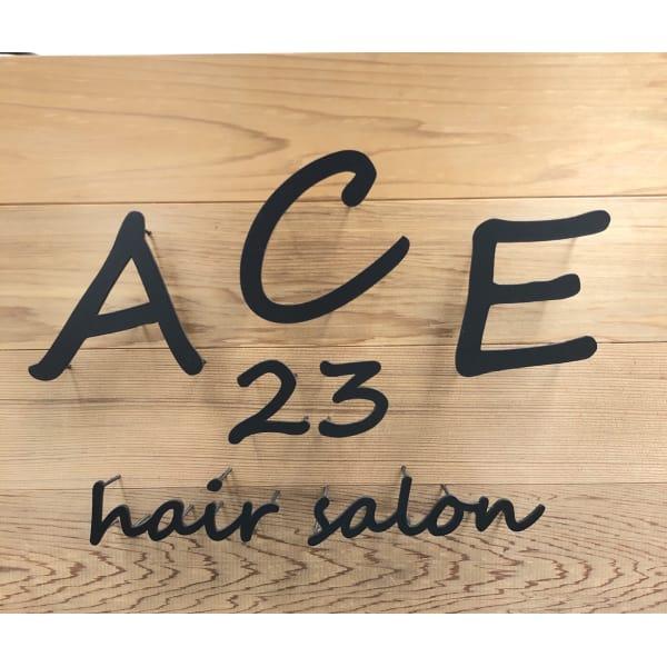 ACE23 hair salon エース 神田