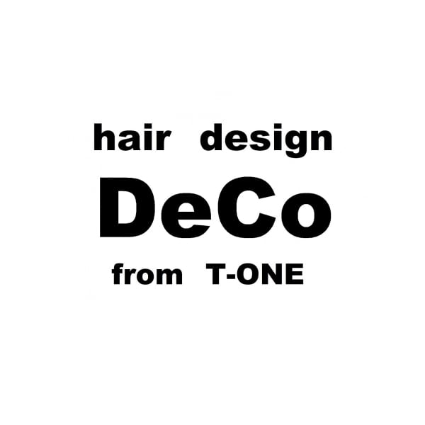 hair design DeCo【デコ】from T-one