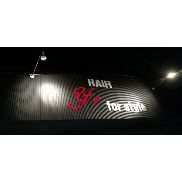 HAIR Y's for style