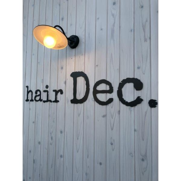 hair Dec.
