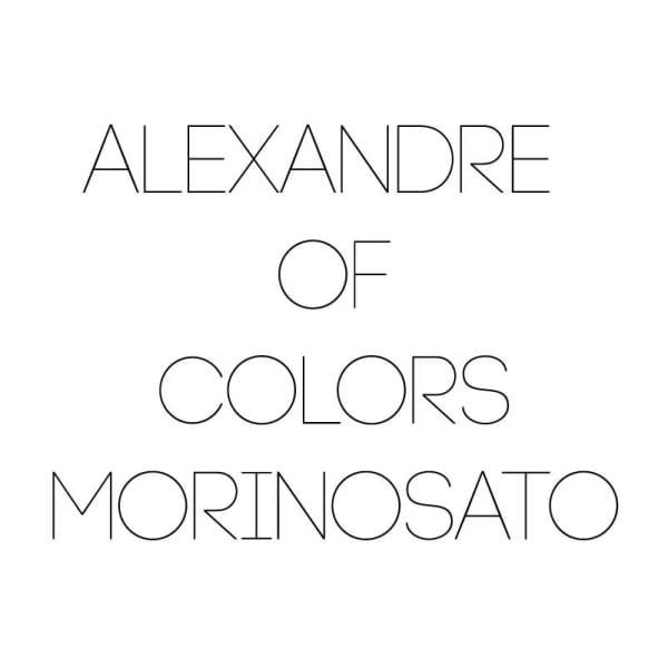 ALEXANDRE OF COLORS MORINOSATO