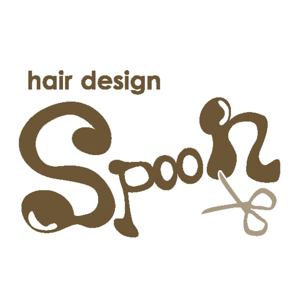 Hair design spoon