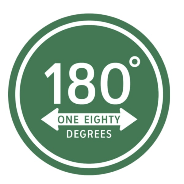 180°One Eighty Degrees.