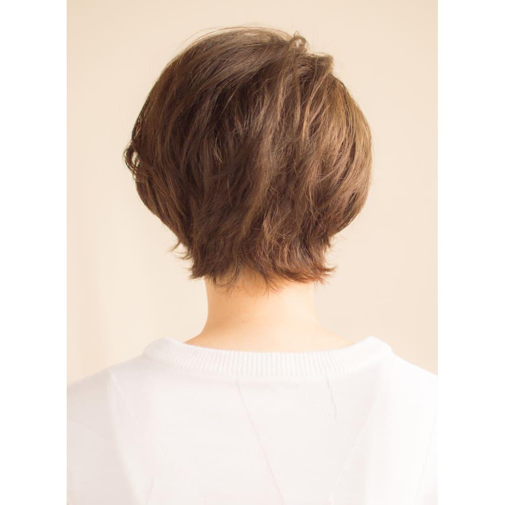 辺見えみり風大人のクールショートスタイル Anti アンティ のヘア