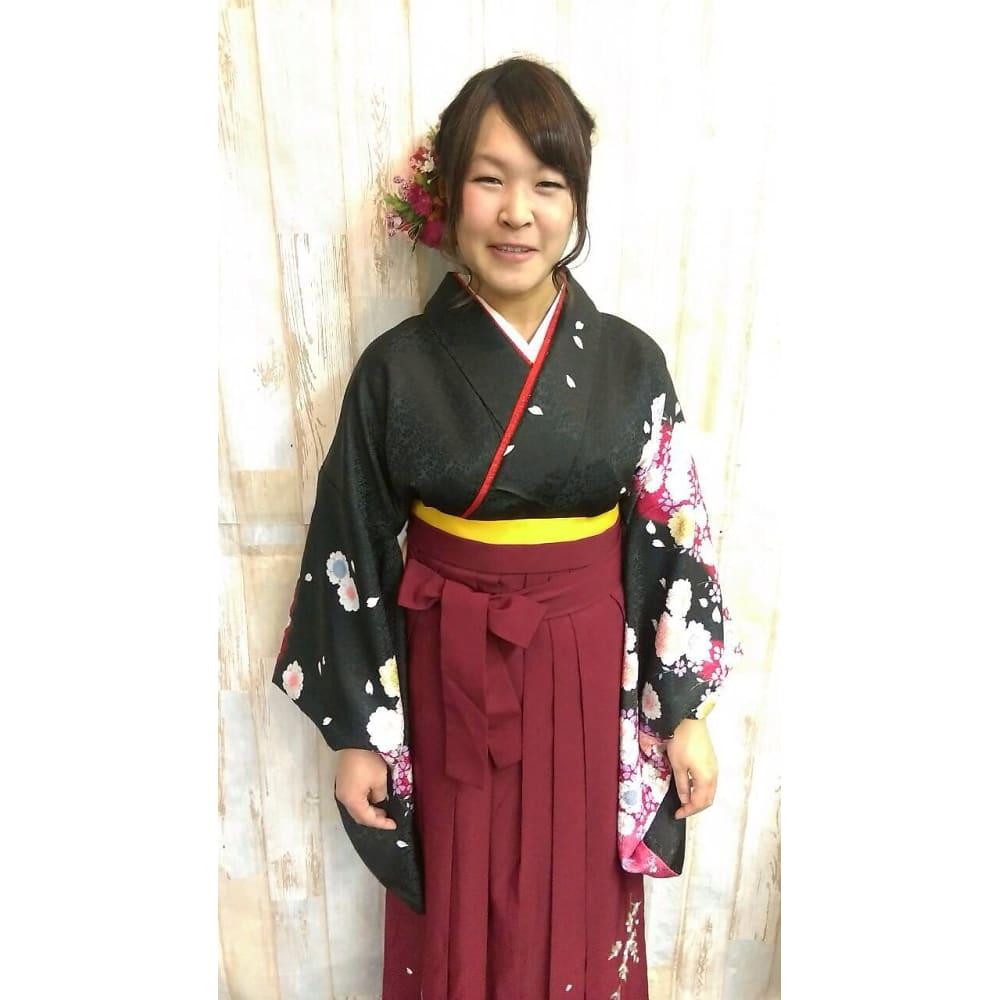 袴 髪型 式 卒業