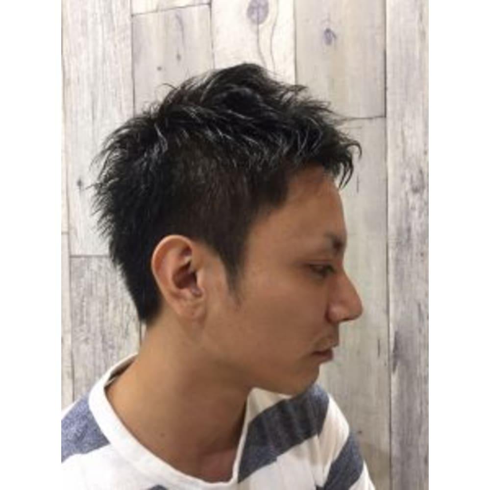 ツーブロック 40代からの若返り モテ男シフトチェンジ Cyan Hair