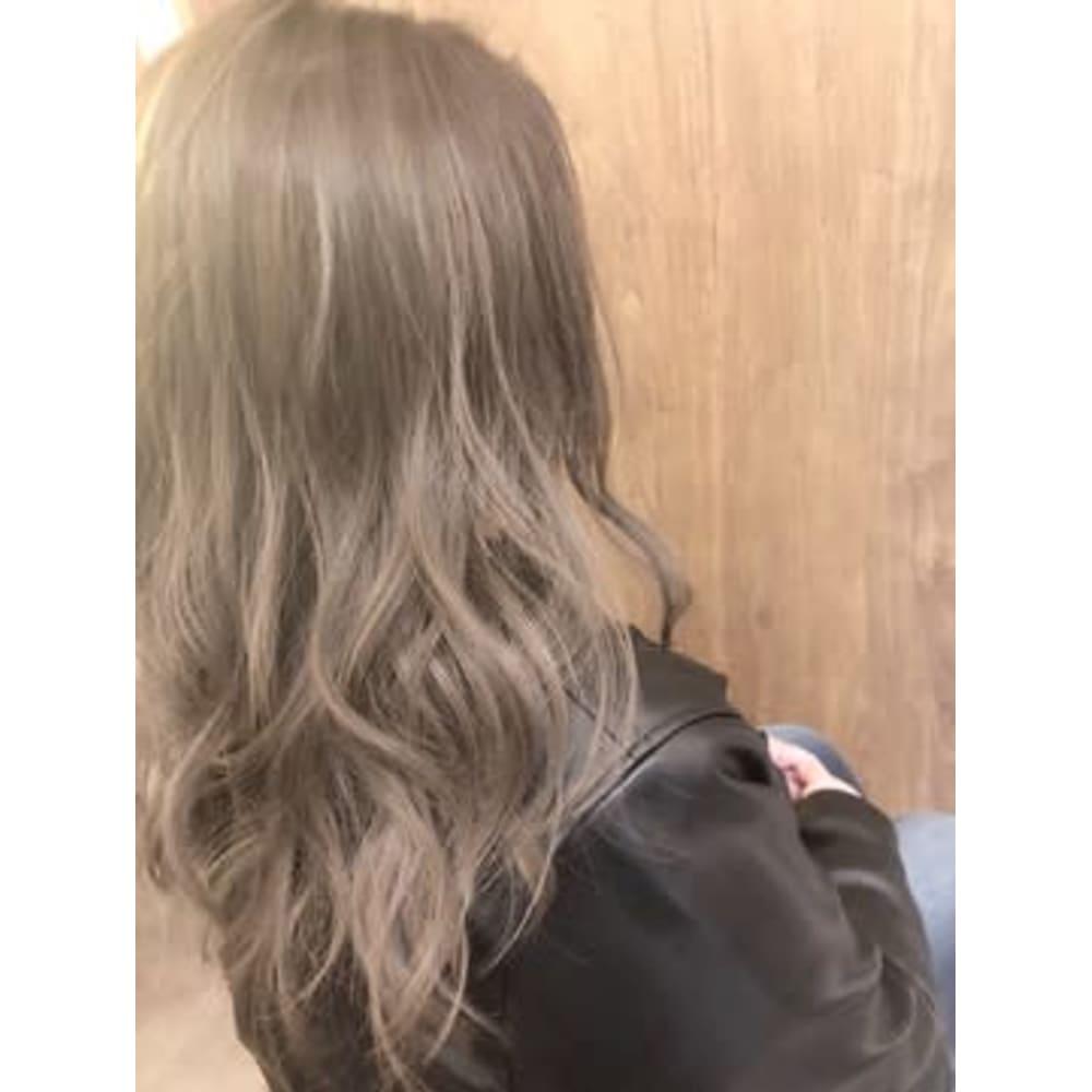 アッシュグレージュ 髪質改善カラーエステ Jewelucina ジュエル