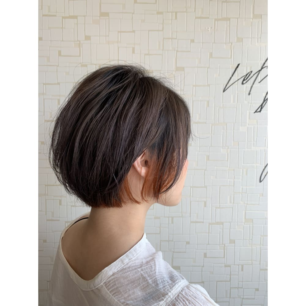 髪型 インナーカラー ボブ Khabarplanet Com