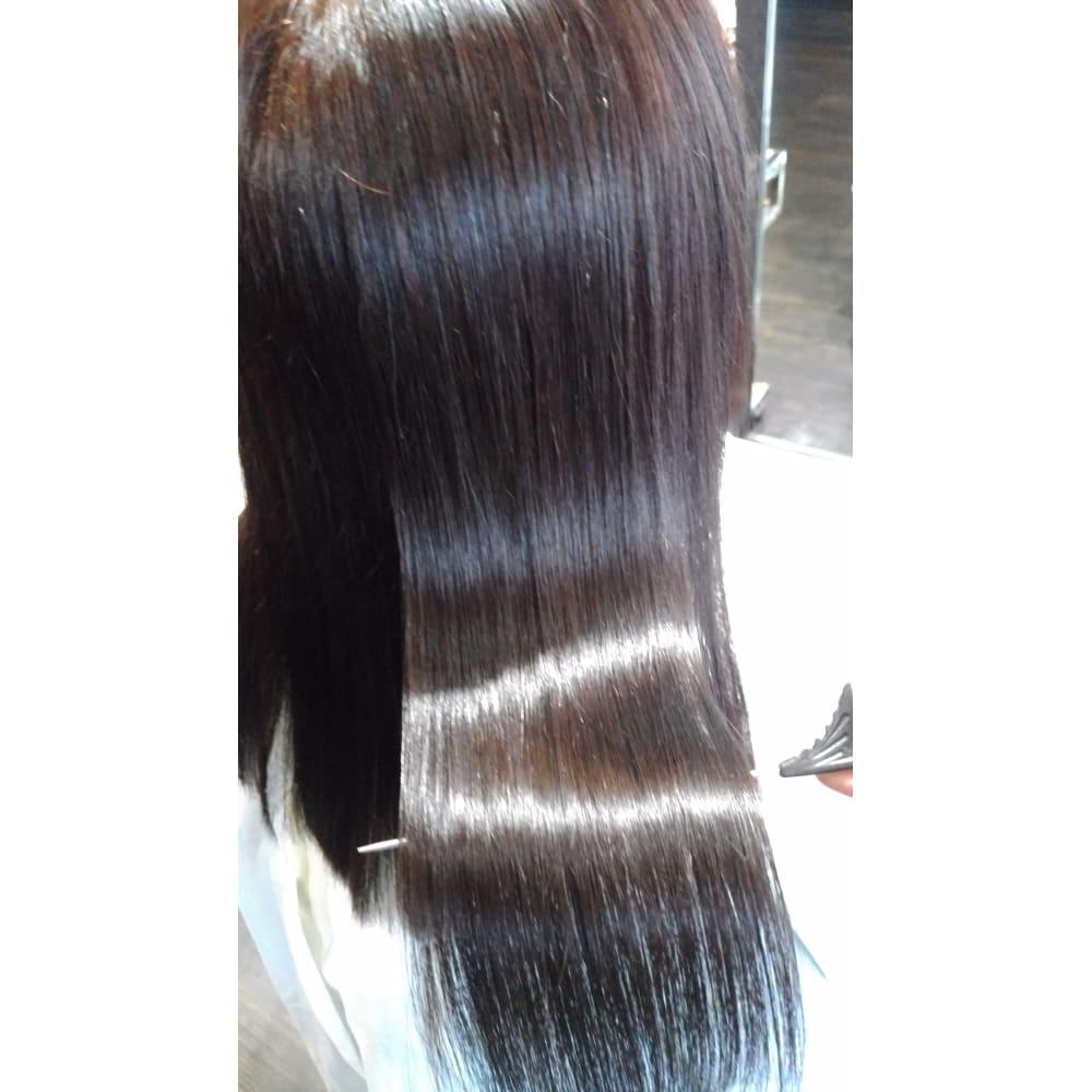 日 の 次 縮 矯正 毛