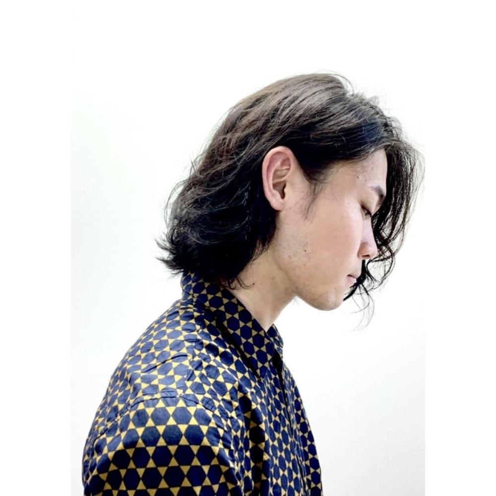 Miik 長髪男子 Miik ミーク のヘアスタイル 美容院 美容室を予約するなら楽天ビューティ