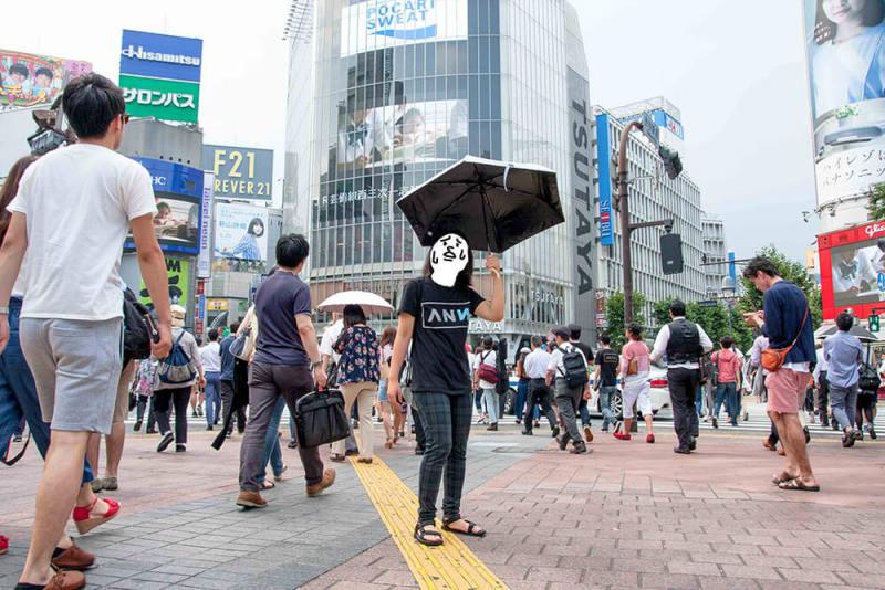 炎天下のコンクリートジャングル(渋谷)は暑いですよね