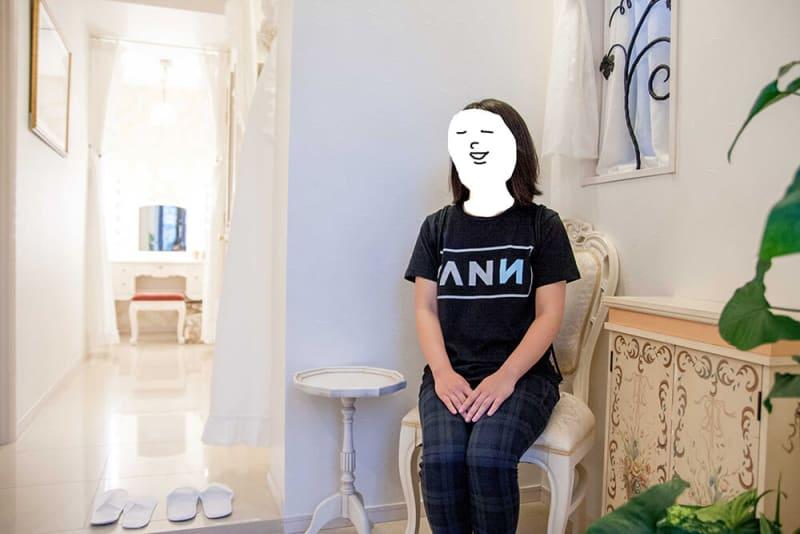 店内はお城みたいで可愛いなって思ったのと、「ANN」のTシャツのロゴが結構かっこいいなって思いました。