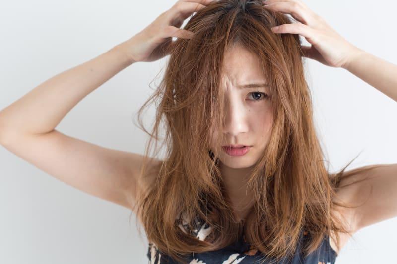 乾燥した髪の毛はどういう状態なの?