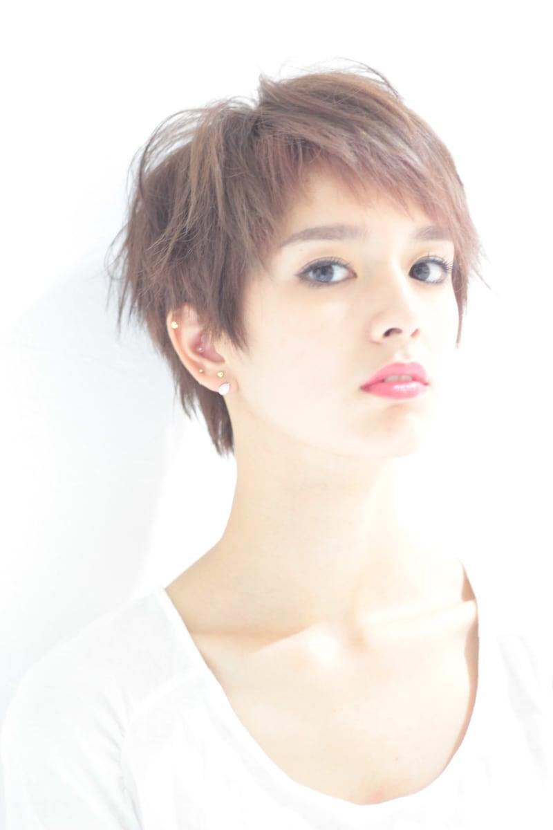オシャレなショートヘアスタイルをまとめたヘアカタログ 銀座 美容室 Shell Bear(シェルベアー)