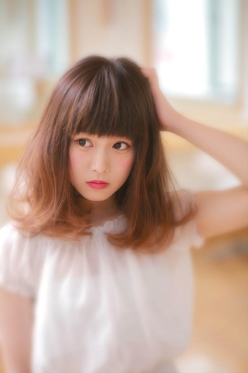 伸ばしかけでも可愛いヘアスタイルをまとめたヘアカタログ 表参道 美容室 HAIR SALON nuance(ニュアンス)