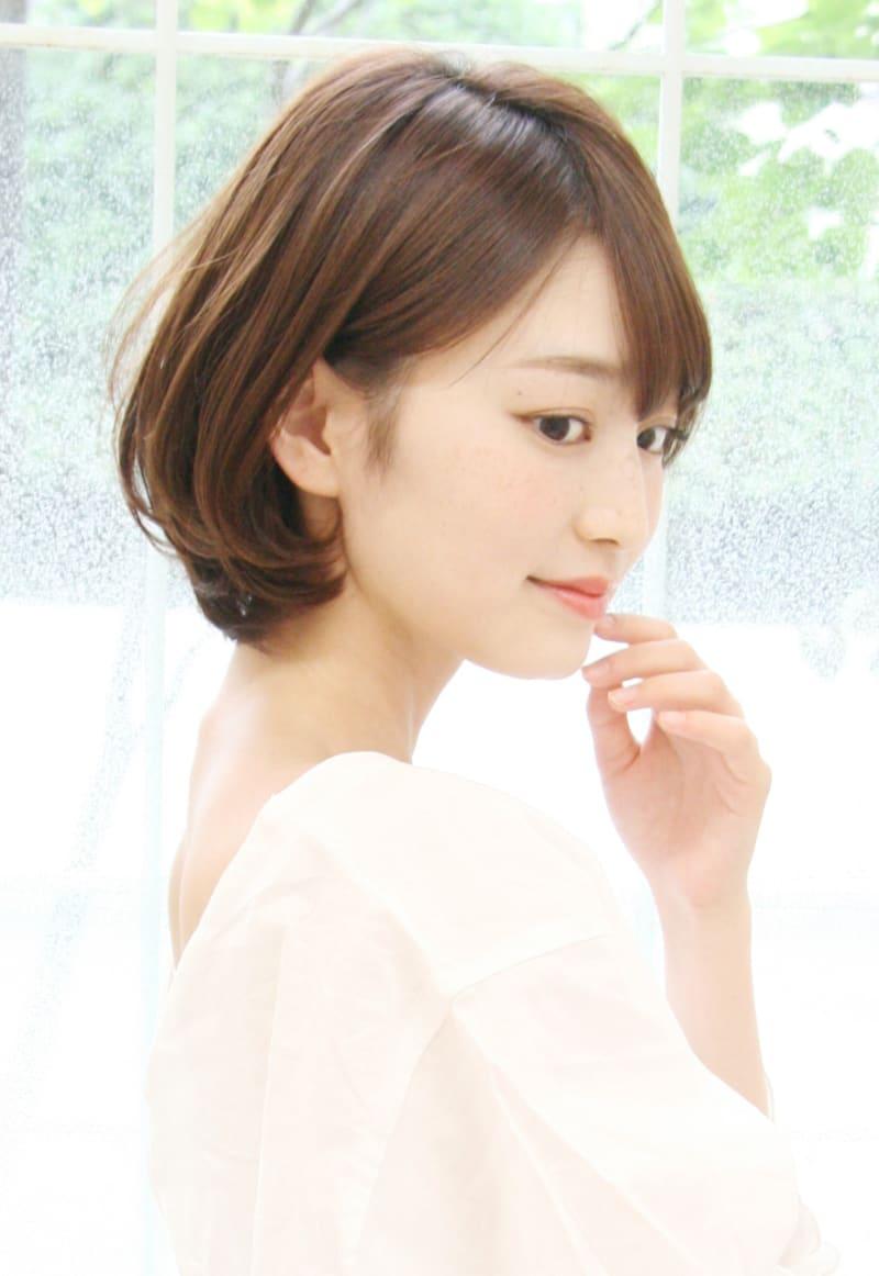 横顔を美しくするショートヘアカタログ 表参道 美容室 RAGUEL(ラグエル)