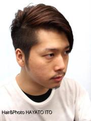 J・B風モヒカン・クラシカル七三パートスタイル