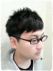 ≪自然な前髪縮毛!!×爽やかmen's short≫