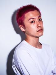 【neon pink】ダブルカラ