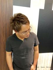 【カットxカラー】スモーキーベージュ