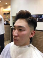 【外人風】ベリーショート フェードスタイル