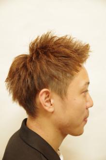 ツーブロックソフトモヒカン/2枚目
