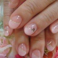 人気のピンクネイル☆