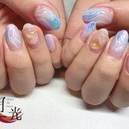 紫陽花ネイル★