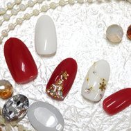 Christmas Ornament Nail