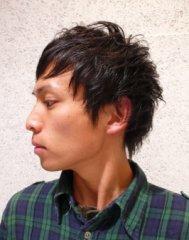 くせ毛を生かしたニュアンススタイル