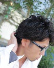 黒髪ツーブロックぱ~ま☆