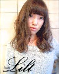 【Lilt hair】外国人くせ毛風×コバルトASH☆