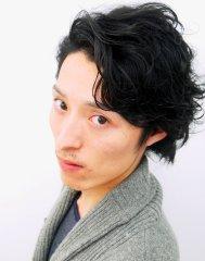 黒髪×アンニュイスタイル
