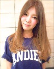 【Lilt hair】グラデ×1カール☆ミルクティーベージュ