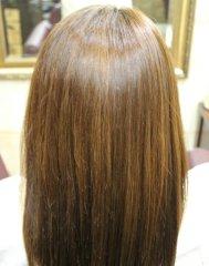 キラ髪ストレートによるツヤ髪スタイル✩