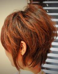 「剛力彩芽」の髪型 前下がり&耳かけショートヘア バージョン
