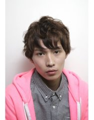 【TRiCK】外国の少年風クシャッと2ブロック