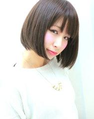 大人かわいい☆メルティカラ―ボブ by dollhair
