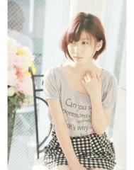 【FEERIE GINZA】+透明感のあるモテショート+
