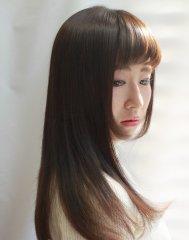 オーガニックカラー【マットパープリッシュ】★シャイニーロング