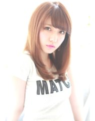 【atreve表参道】大人可愛い☆黒髪でも◎艶髪ストレート♪