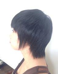 縮毛矯正で自然なサラサラヘアー