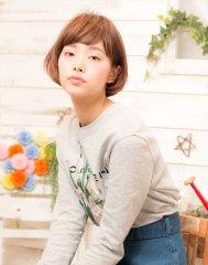 【MINX】 西内まりや風 シンプル小顔ショートボブ☆