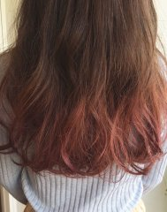 秋冬◆グラデーションカラー◆赤◆レッド