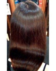 この髪は・・・僕の60歳になる母親の髪の画像です!