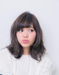ピュア髪グレイジュカラー☆