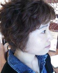 三浦大知 風パーマスタイルで、スタイリングが簡単です!!