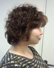 髪のボリュームアップ!家でも簡単!再現性高いパーマスタイル